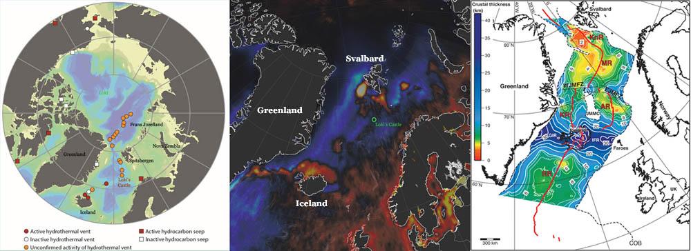 Hydrothermische energie Spitsbergen.