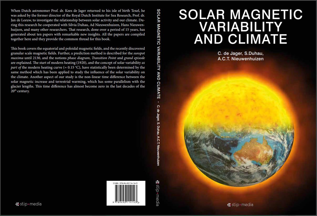 SOLAR MAGNETIC VARIABILITY AND CLIMATE - C. de Jager, S. Duhau & A.C.T. Nieuwenhuizen